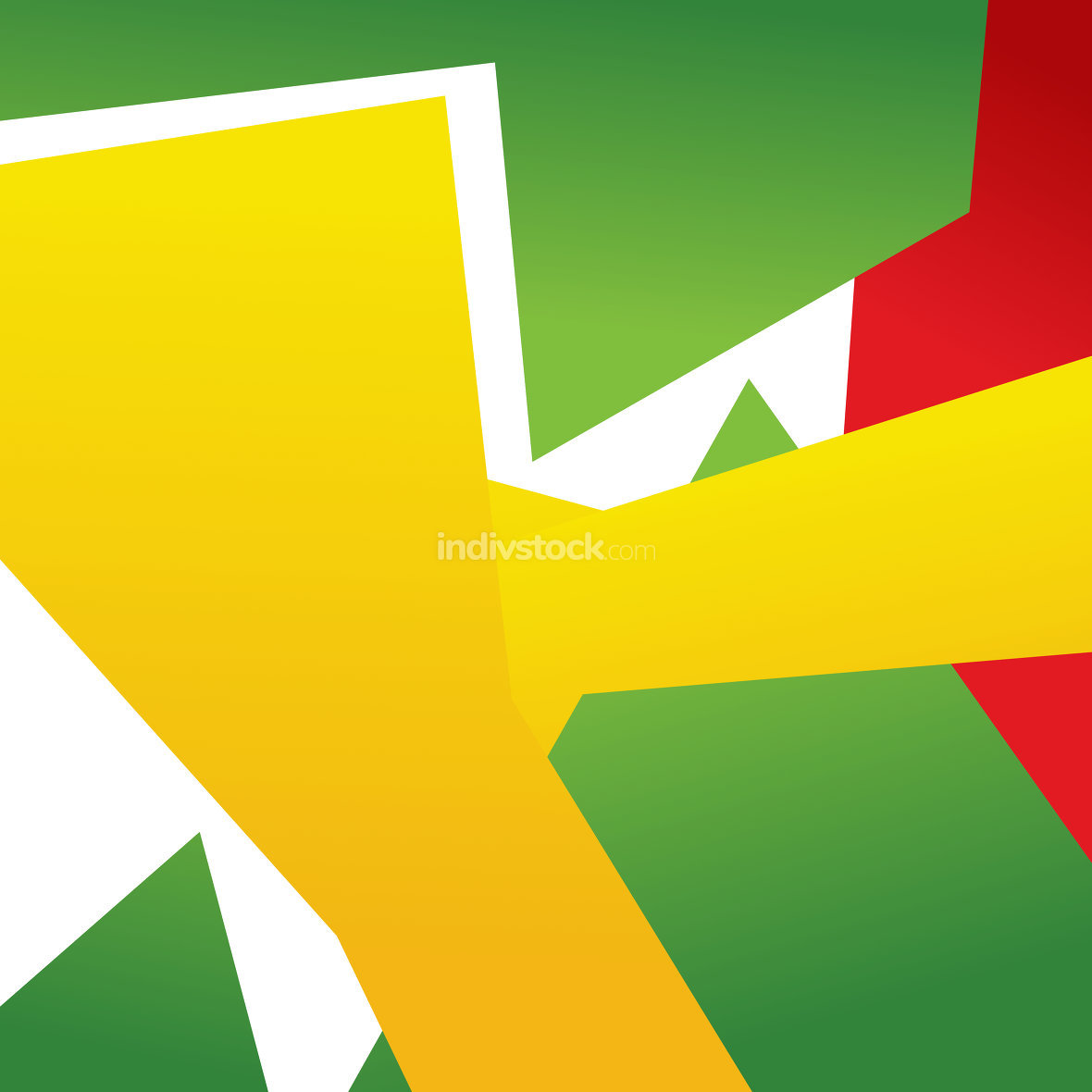 Abstract Brazil Colored Design