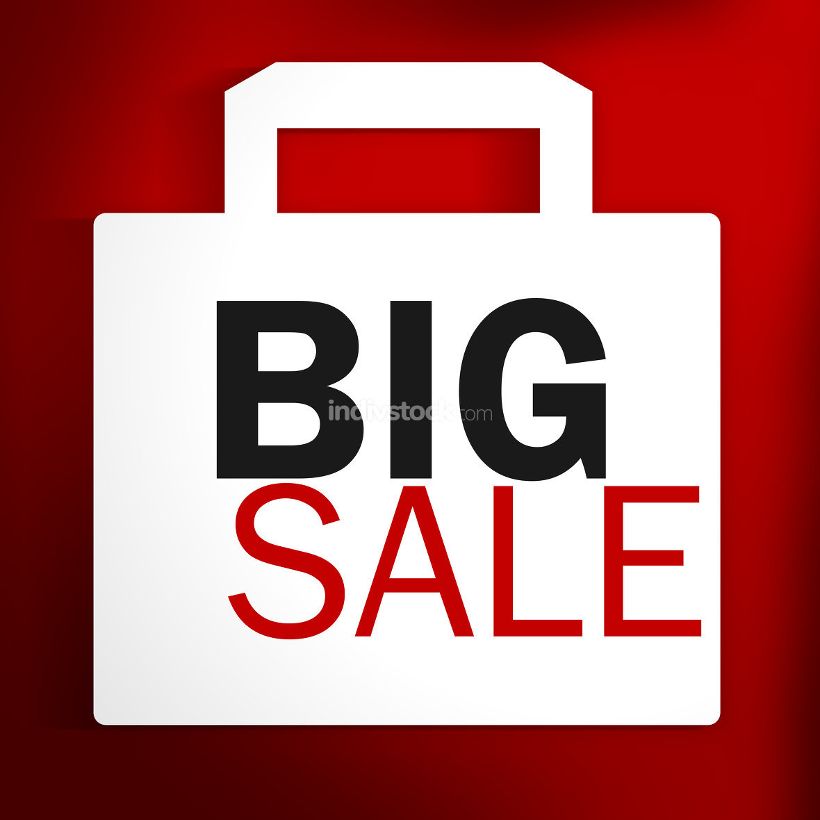 Big Sale red white bag