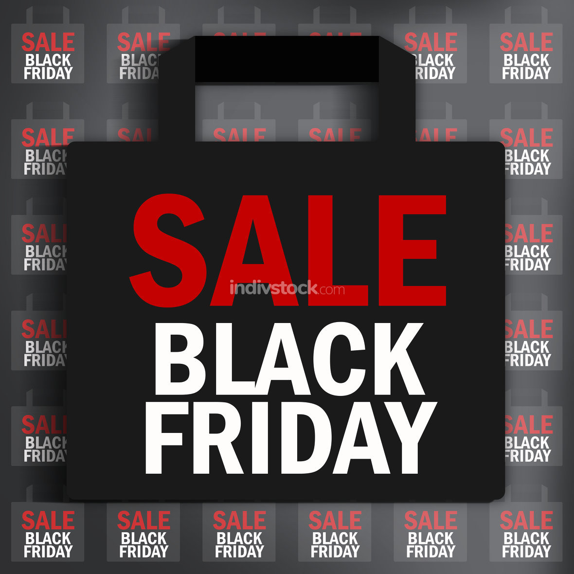 black friday sale bags transparent