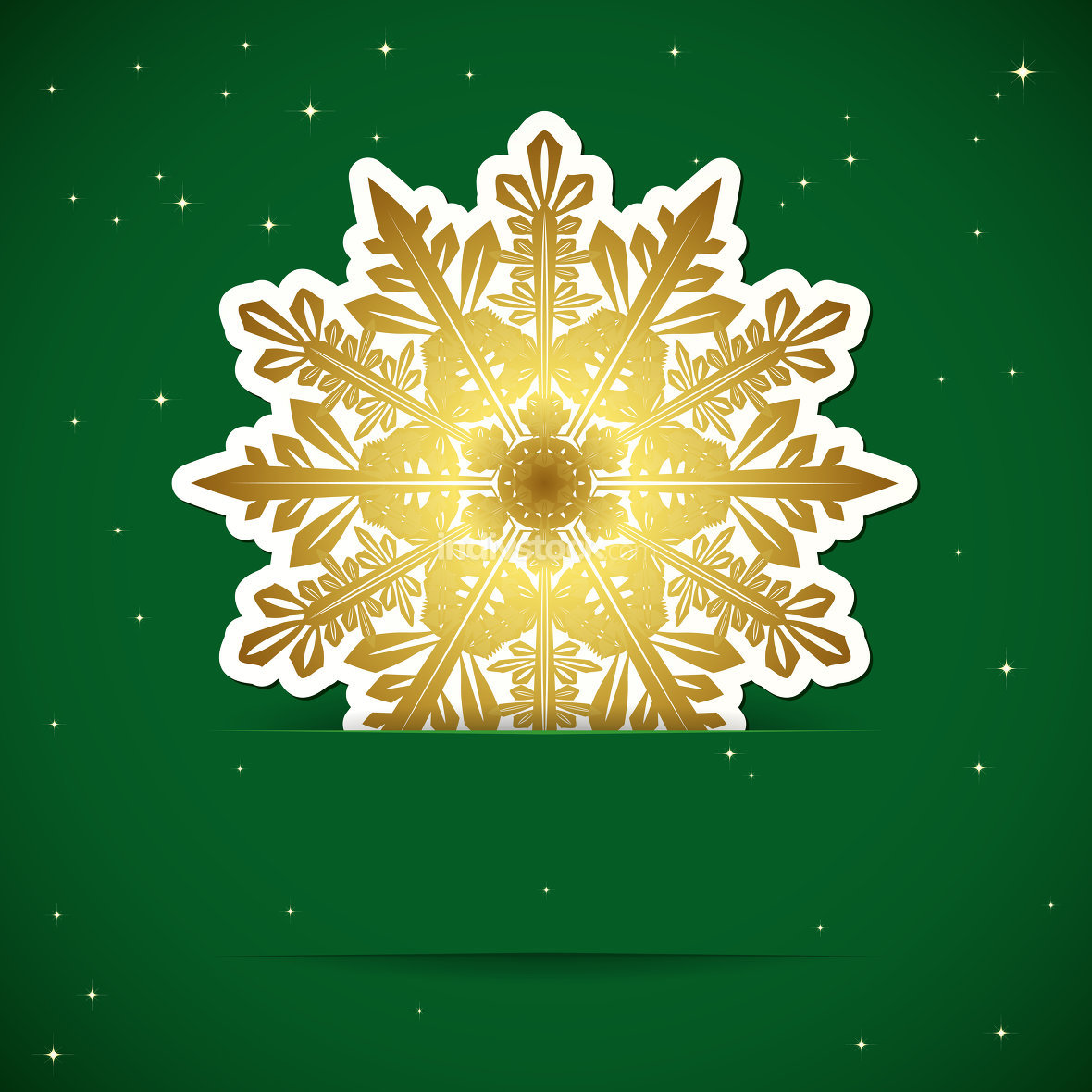 Christmas background. Snowflake