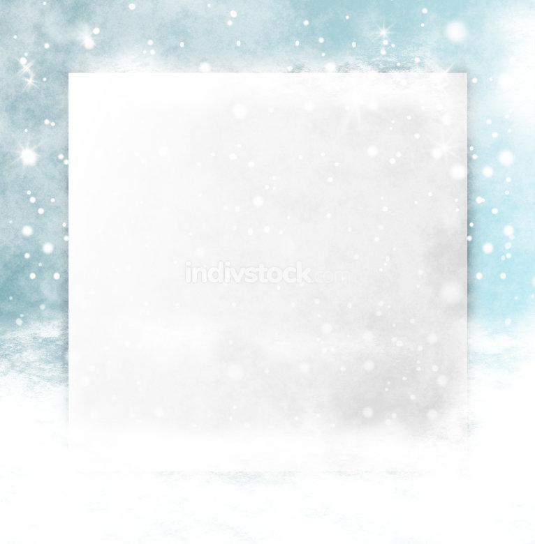 ice melt blank board 3d design