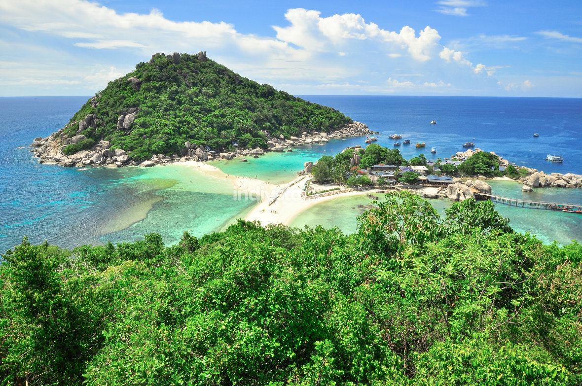 Koh Tao a paradise island in Thailand.