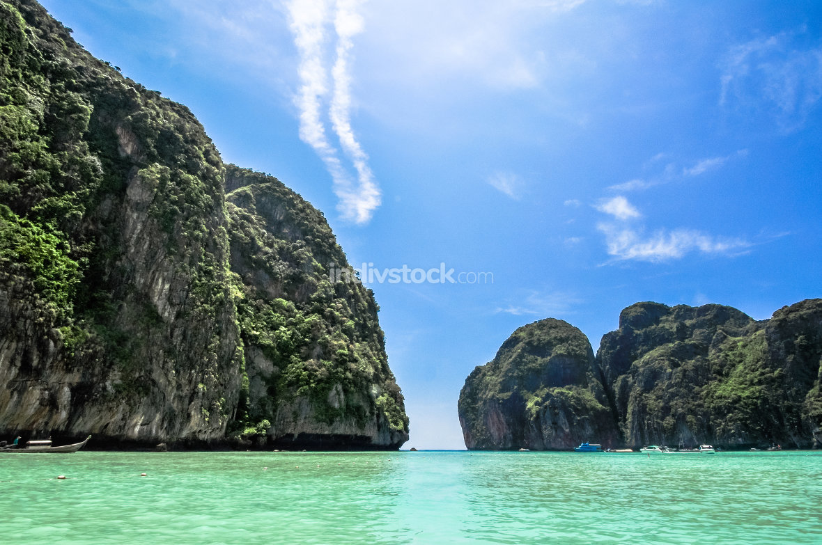 Maya Bay, Koh Phi Phi, Thailand. The place to be.