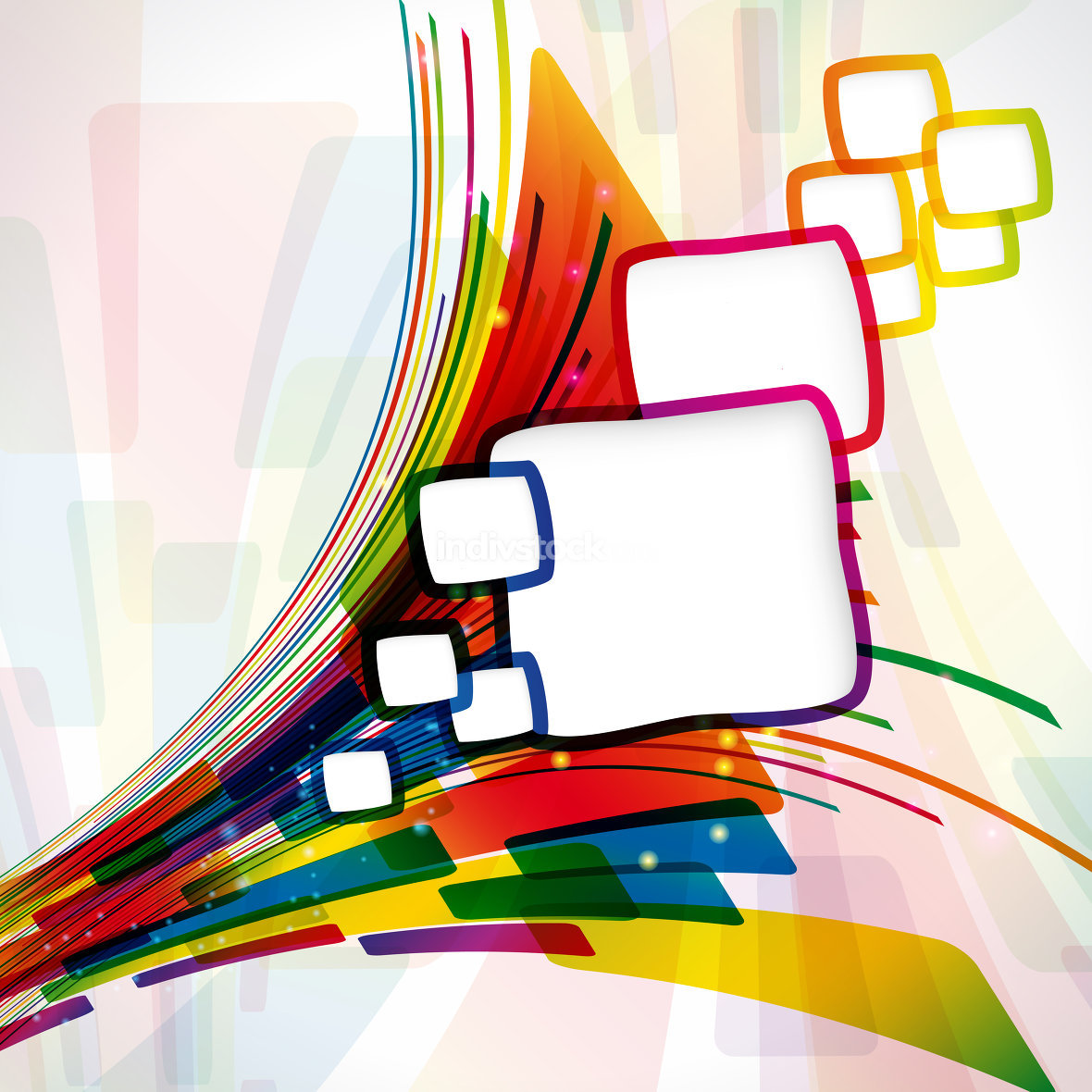 Multicolor abstract bright background