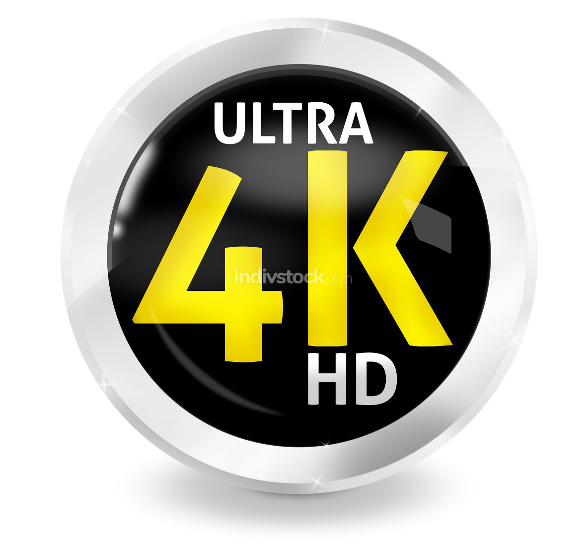 Ultra HD 4K Fresh Icon Design
