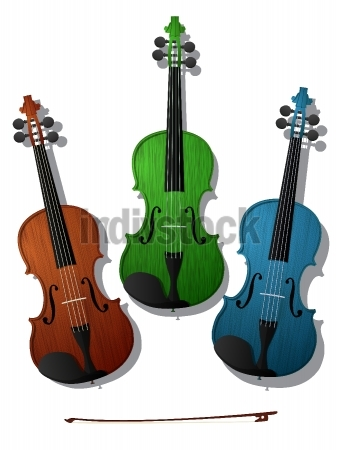 Colored violins