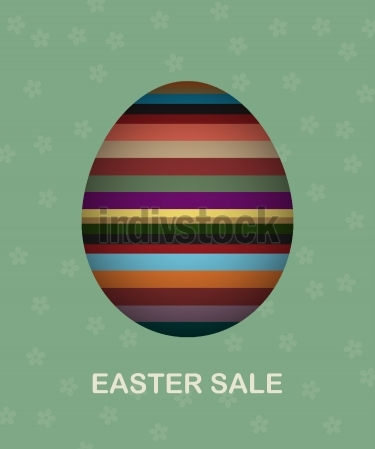 Easter sale card