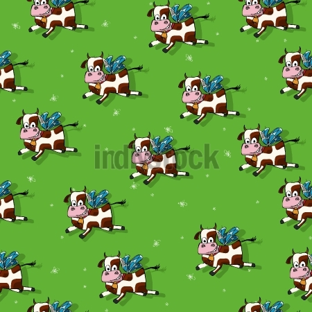 Flying cows pattern