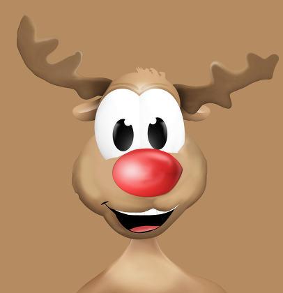Happy Reindeer