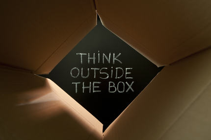 Think outside the box on blackboard