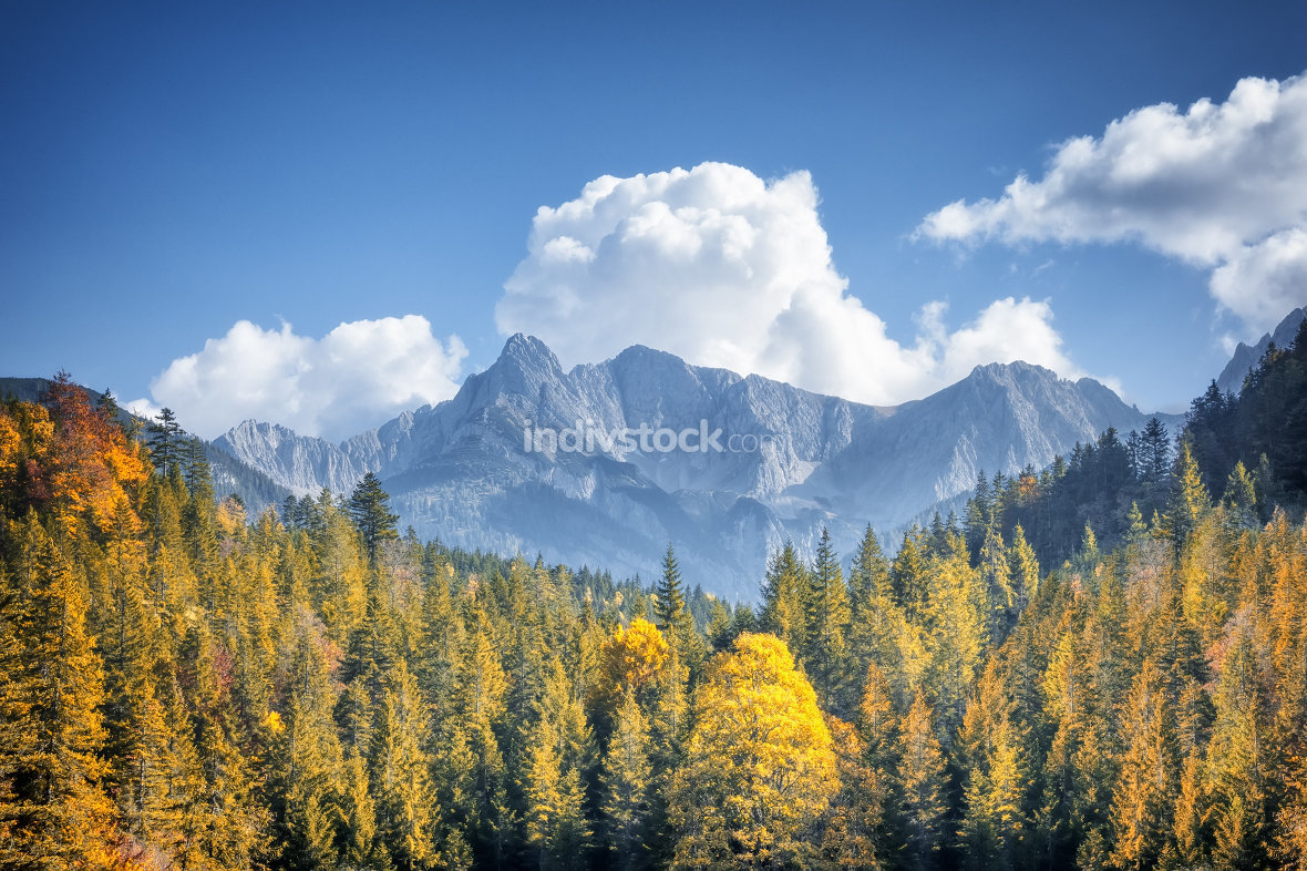 autumn alps