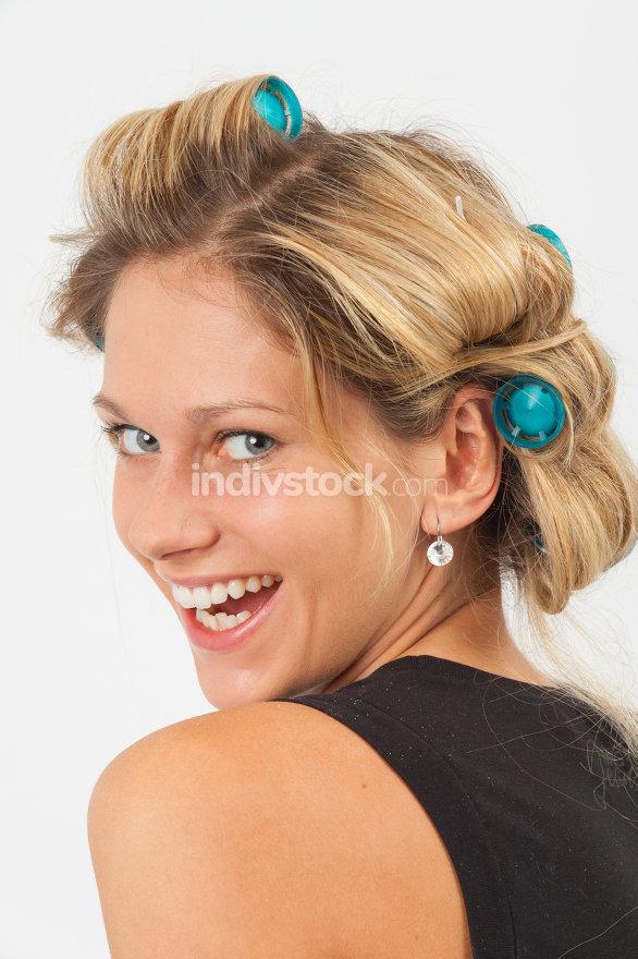 Eva laughs