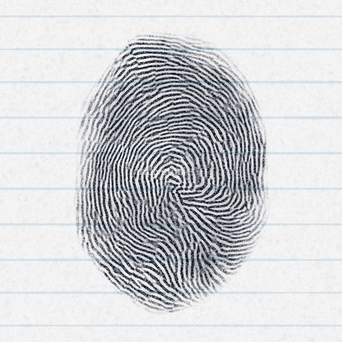 fake finger print