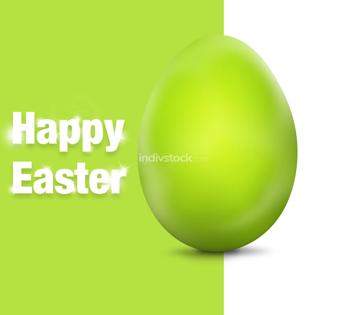Happy Easter Egg Festive Elements