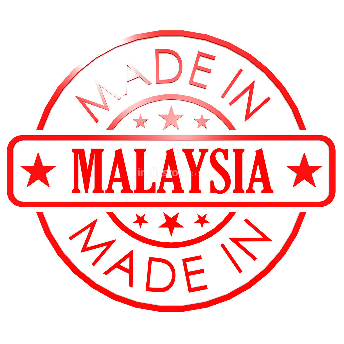 Made in Malaysia red seal