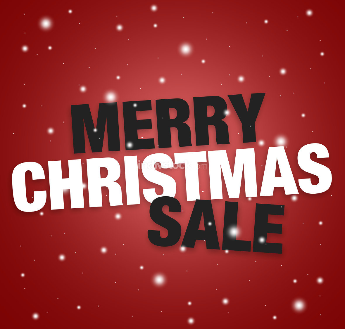 merry christmas sale red