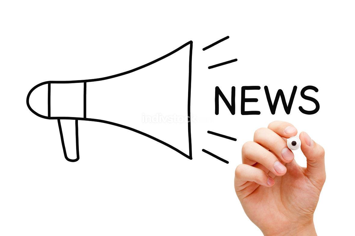 News Megaphone Concept