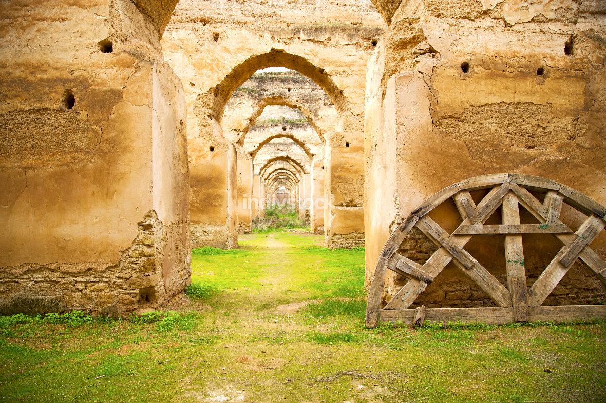 old moroccan granary