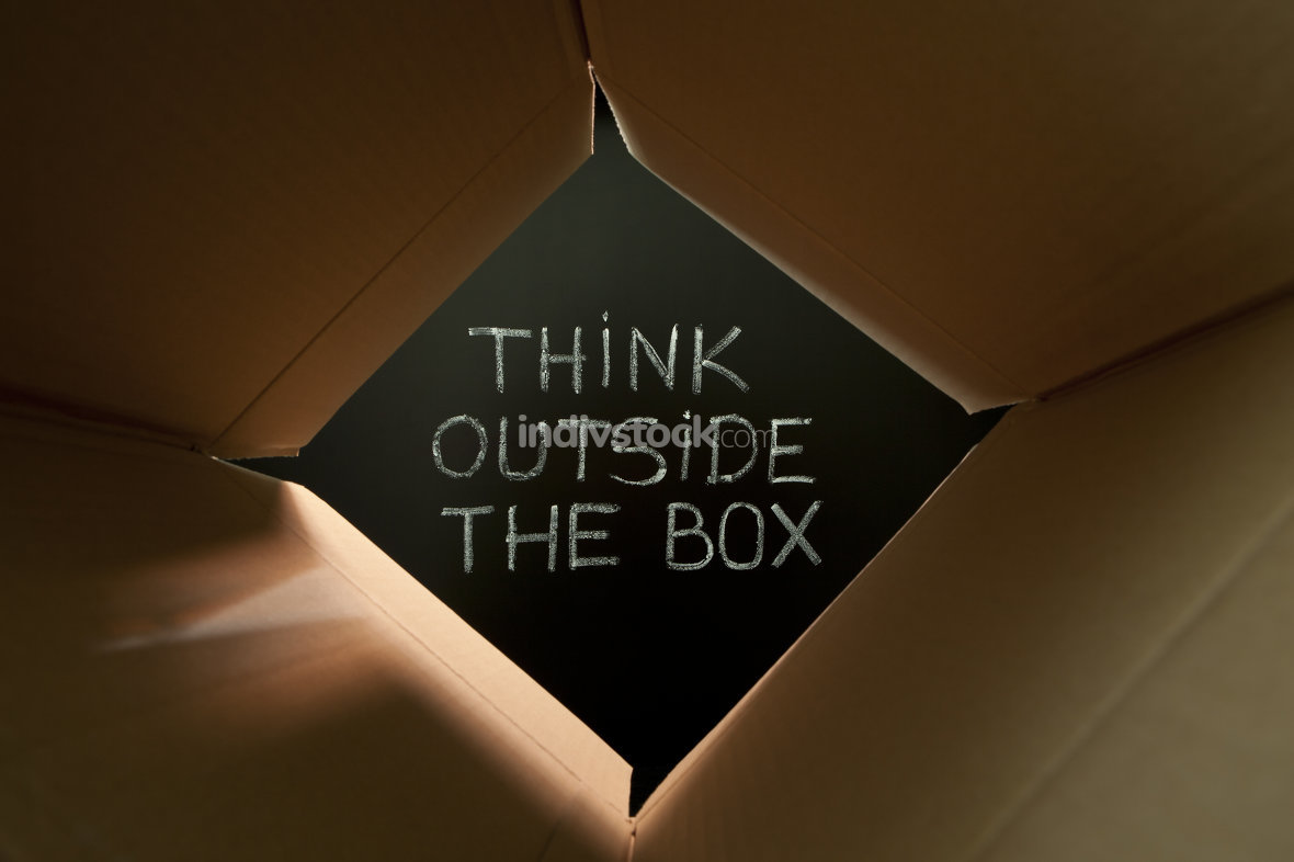 Think outside the box on blackboard