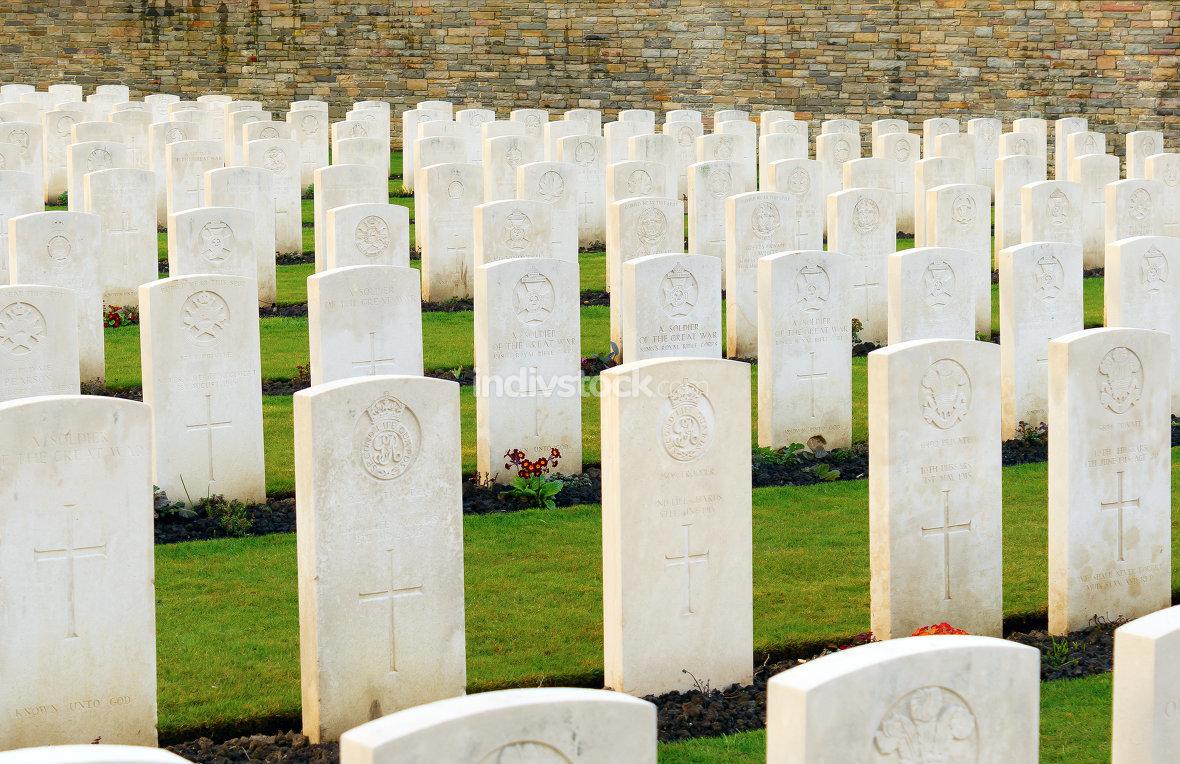 Wood Cemetery great world war one flanders Belgium