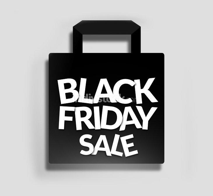 black friday, shopping bag sale ZeichenSymbole indivstock