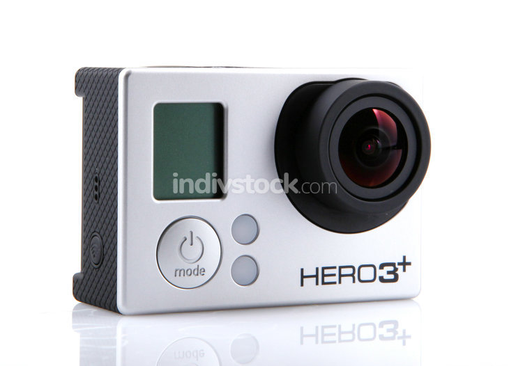 BULGARIA - 2014: HERO3+ Black Edition isolat