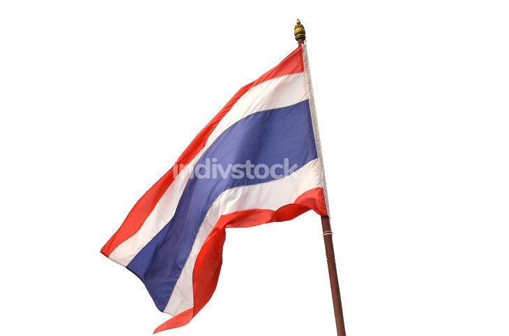 Flag of Thailand or siam