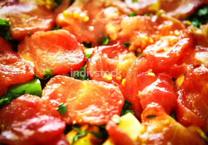 Tomatoes slices