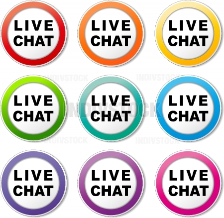 live chat icons