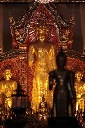 ASIA THAILAND CHIANG MAI WAT PHRA SING