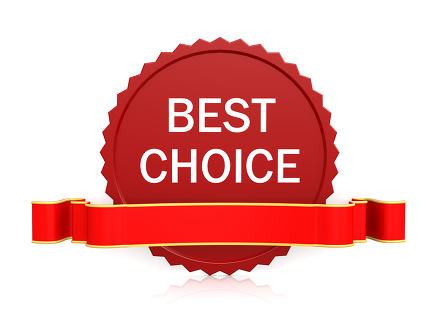 Best choice seal with ribbon