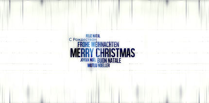 Christmas Font Background
