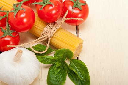 Italian basic pasta ingredients