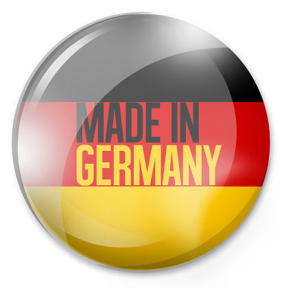 made in germany Round Button