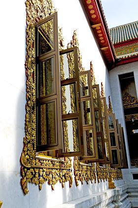 temple  phangan bangkok  incision red wenetian