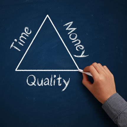Time, Money and Quality