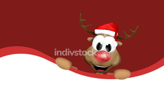 christmas dark red design