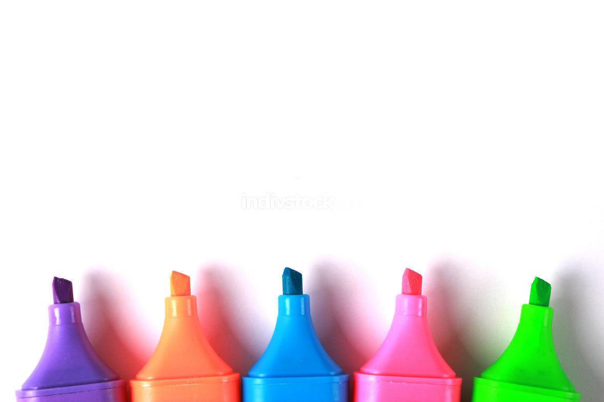 Colorful Marker Background