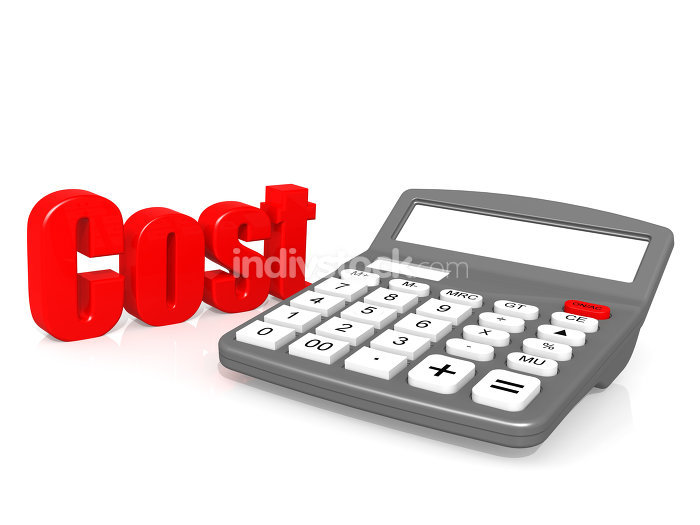 Cost with calculator