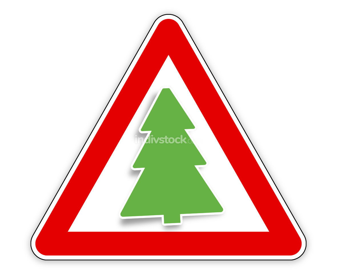 fir red sign