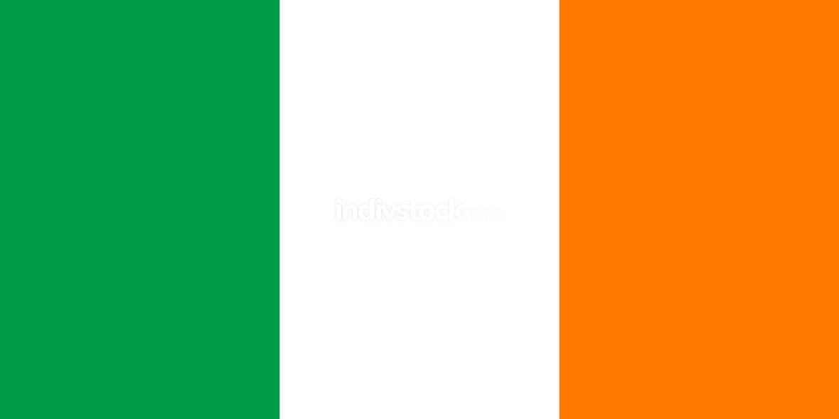 Flag of Ireland Horizontal