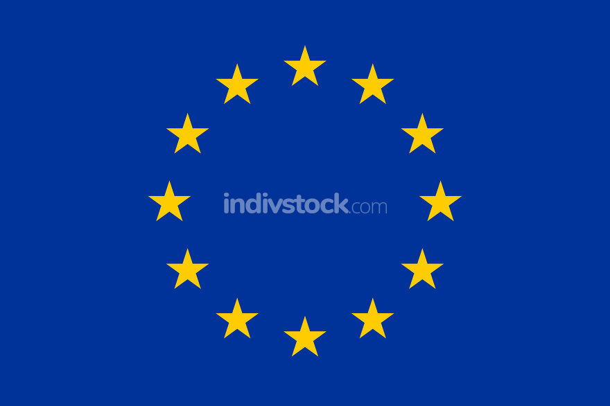 Flag of the European Union Horizontal