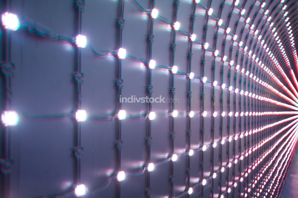 free download: background with multicolored LEDs in perspective