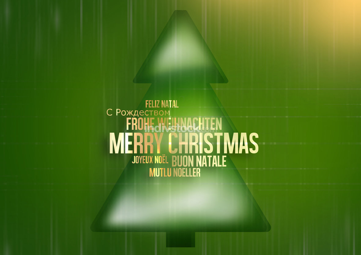 free download: Merry Christmas multilingual