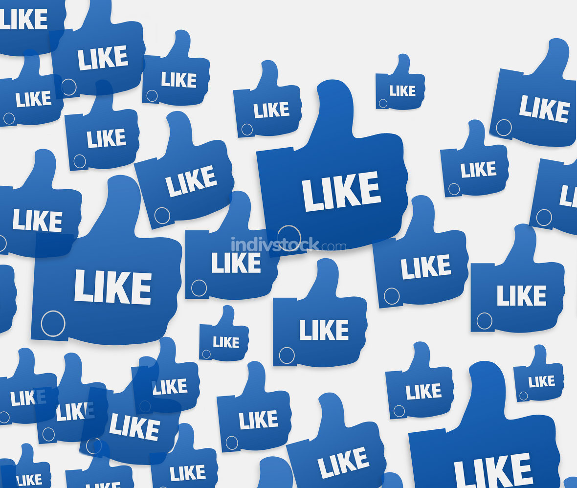 free download: social likes background
