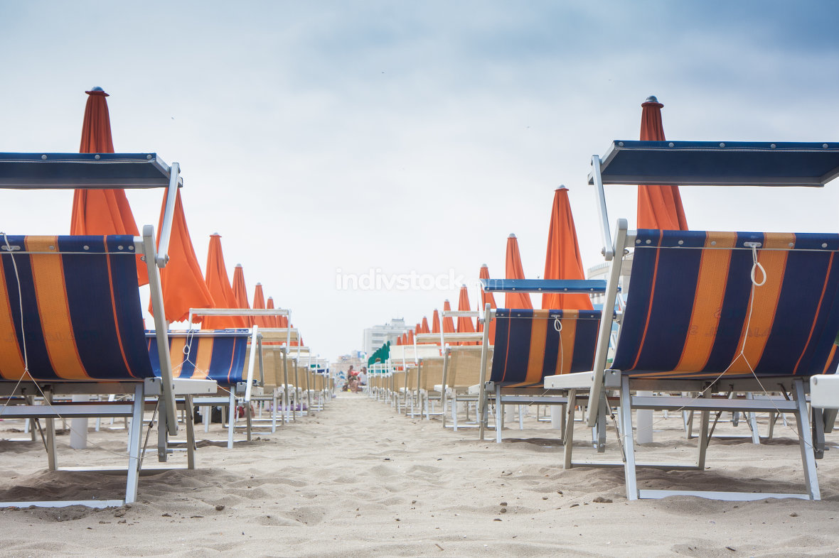 free download: Umbrellas and sunbeds in Rimini and Riccione and Cattolica Beach