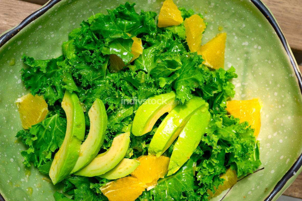fresh avocado salad