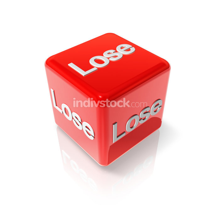 Lose red dice