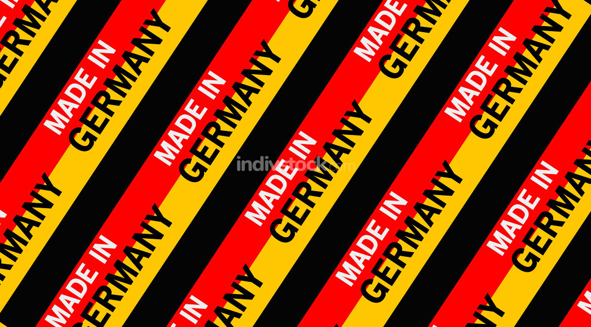 made in germany building site background