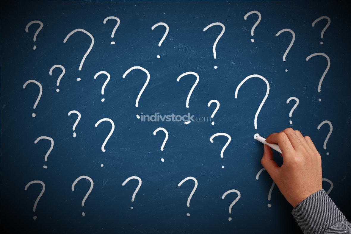 Question Mark Chalkboard